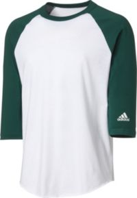 adidas Youth Triple Stripe ¾ Sleeve Baseball