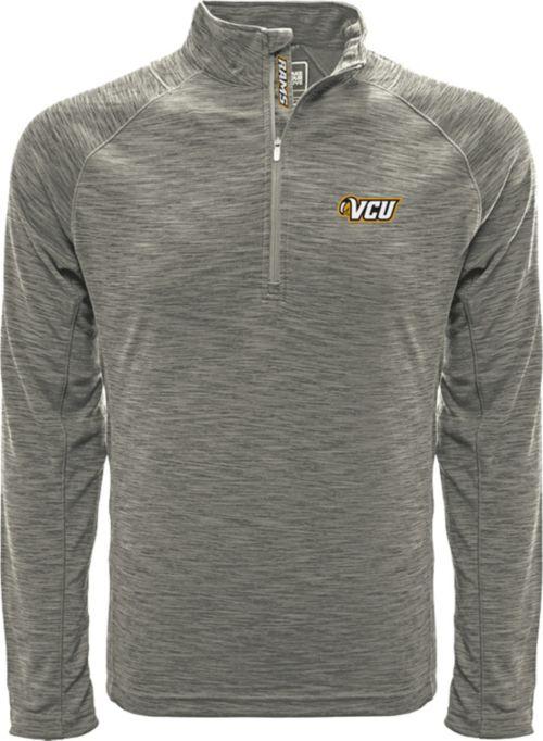 3a73c042df3 Levelwear Men s Villanova Wildcats Grey Mobility Long Sleeve Quarter-Zip  Shirt