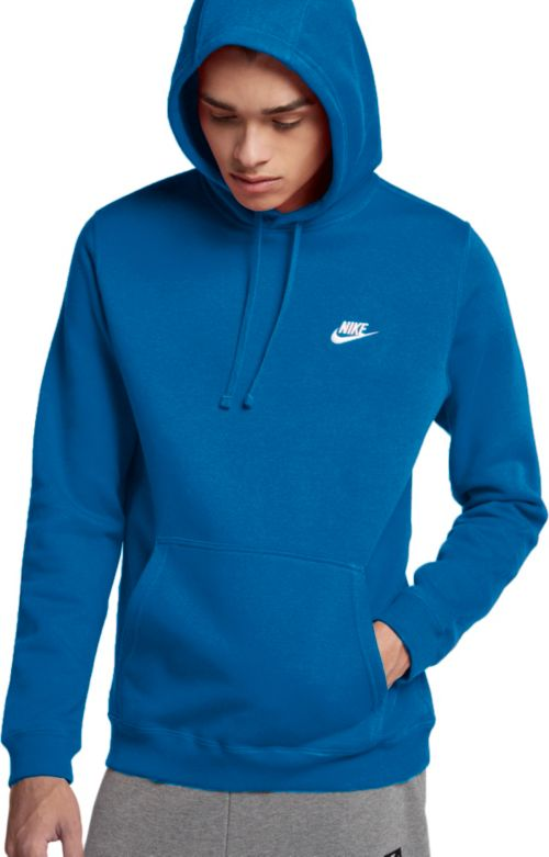 c760377ea84d Nike Men s Club Fleece Pullover Hoodie