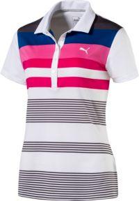 PUMA Women's Road Map Golf Polo