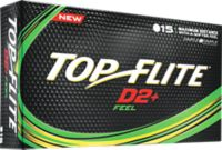 Top Flite D2+ Feel Golf Balls – 15 Pack
