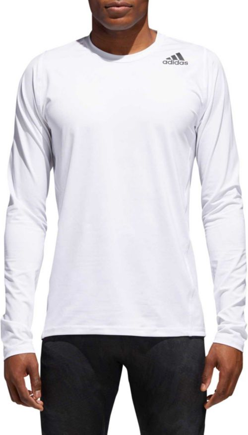 Hommes Adidas Alphaskin sport Fitted manches longues T shirt