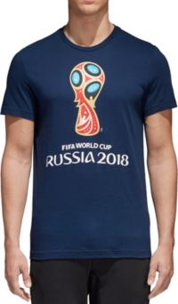 adidas Men's 2018 World Cup Russia Logo Navy