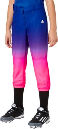 adidas Girls' Destiny Ombre Softball Pants