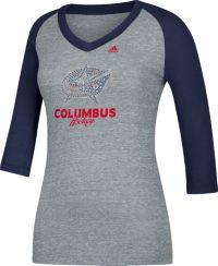 adidas Women's Columbus Blue Jackets Bling