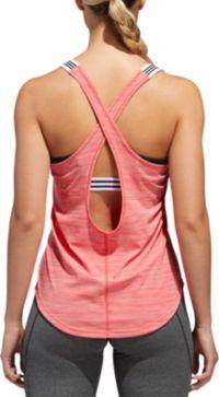 adidas Women's Performer 3-Stripes Tank Top