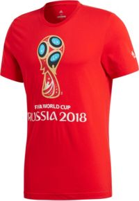 adidas Youth 2018 World Cup Russia Logo Red