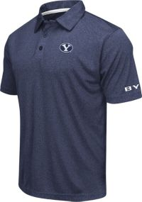 Colosseum hommes BYU Cougars Blue AXIS Polo