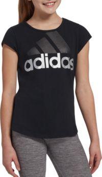 adidas Girls Badge Of Sport T-Shirt