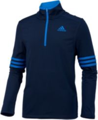 adidas Boys' Pursuit Half Zip Long Sleeve