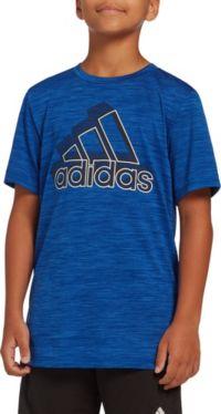 adidas Boys' Melange T-Shirt