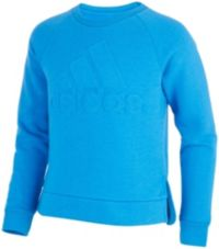 adidas Girls' Logo Pullover Sweatshirt