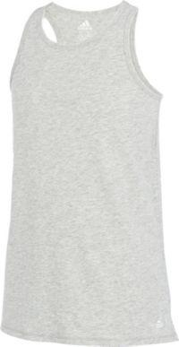adidas Girls' Cool Down Melange Tank Top