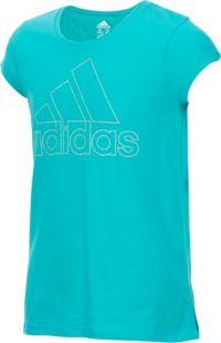 adidas Girls' Vented T-Shirt