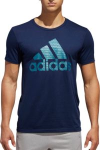 adidas Men's Metallic Ultimate T-Shirt 2.