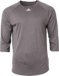 adidas Men's Triple Stripe ¾ Sleeve Tech