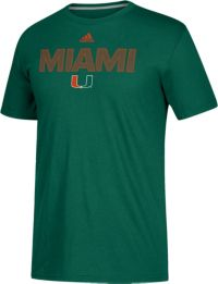 adidas Men's Miami Hurricanes Green Go-To