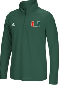 adidas Men's Miami Hurricanes Green Long