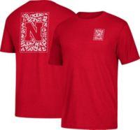 adidas Men's Nebraska Cornhuskers Scarlet