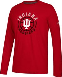 adidas Men's Indiana Hoosiers Crmison Center