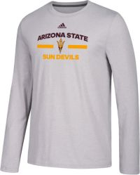 adidas Men's Arizona State Sun Devils Grey