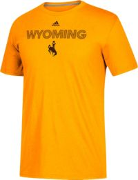 adidas Men's Wyoming Cowboys Gold Sideline