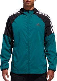 adidas Men's Sport Id 3-Stripe Windbreaker