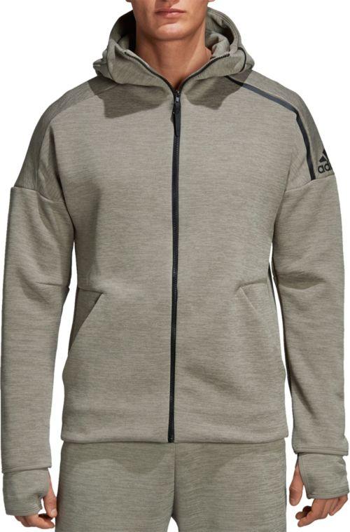 dfb67f822f0f adidas Men s ZNE Full Zip Hoodie
