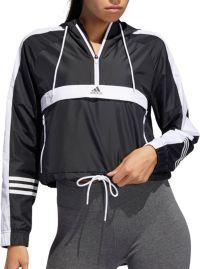 adidas Women's ID Wind Half Zip Jacket