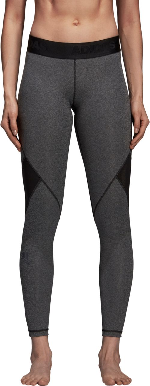 d0712be4cf adidas Women's Alphaskin Sport Heather Training Tights | DICK'S ...