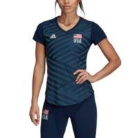 Adidas Women's USA Volleyball Replica T-Shirt