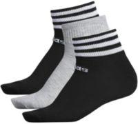 adidas Women's 3-Stripe Low Cut Socks 3 Pack