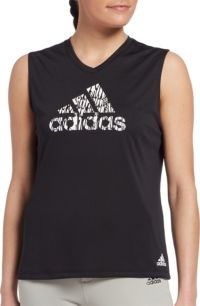 adidas Women's Sleeveless Softball Graphic