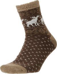 Field and Stream Men's Moose Cozy Cabin Socks