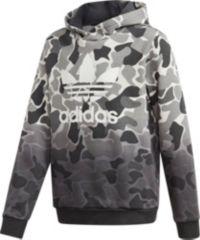 adidas Originals Boys' Camo Trefoil Hoodie