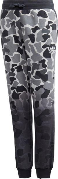 adidas Originals Boys' Camo Trefoil Pants