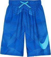 Nike Boys' Flywire Line Swoosh Breaker Swim
