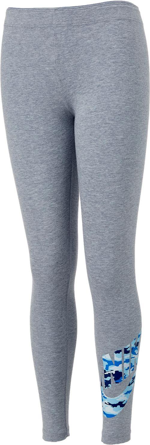 Hot Nike Girls' Sportswear Favorites Camo Leggings | DICK'S Sporting Goods