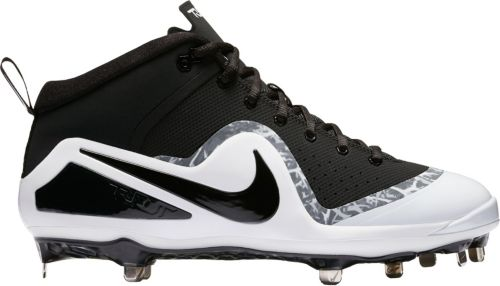 Nike Men s Force Zoom Trout 4 Mid Metal Baseball Cleats  57556c8ea