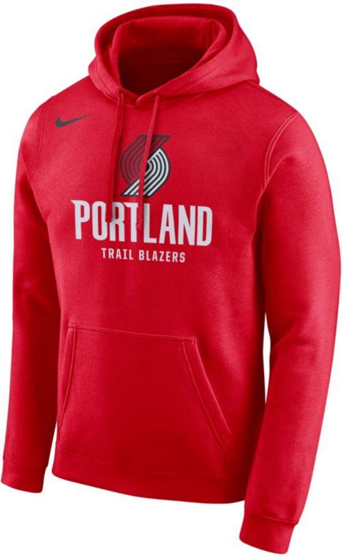 b3b66944eccb Nike Men s Portland Trail Blazers Pullover Hoodie