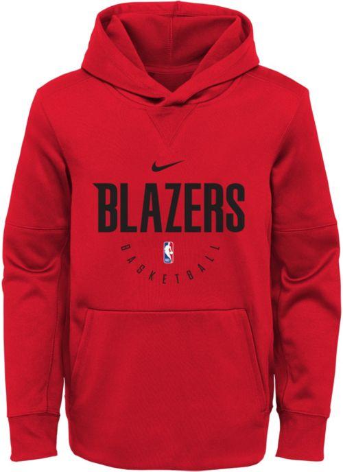 Nike Youth Portland Trail Blazers Spotlight Hoodie  5be284a76c77