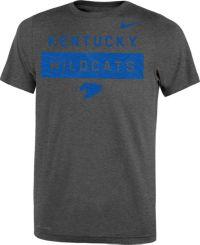 Nike Youth Kentucky Wildcats Grey Dri-FIT