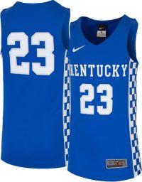 Nike Youth Kentucky Wildcats #23 Blue Replica