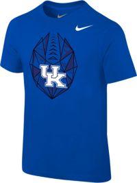 Nike Boys' Kentucky Wildcats Blue Football