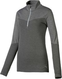 PUMA Women's Evoknit 1/4-Zip Golf Pullover