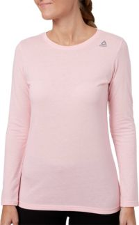 Reebok Women's Core Cotton Jersey Long Sleeve