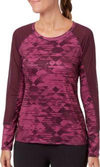 Reebok Women's Long Sleeve Baseball Shirt