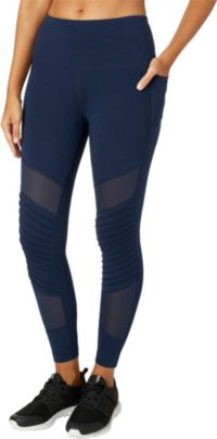 Reebok Women's Stretch Cotton Moto Tights