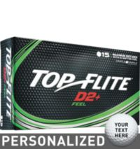 Top Flite D2+ Feel Personalized Golf Balls