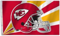 Flagpole-to-Go Kansas City Chiefs 3 'X 5
